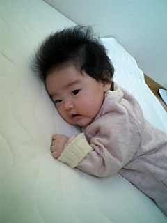 赤ちゃんのうつ伏せ
