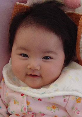 表情の良い赤ちゃん