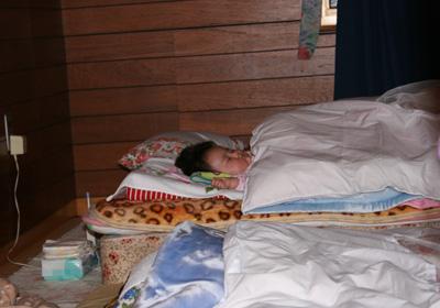 京都でお寝んね
