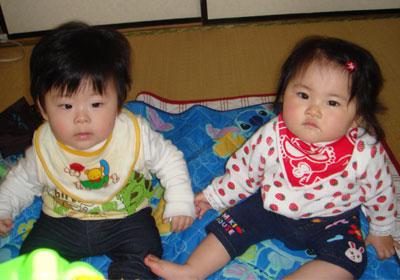 タケちゃんとナユちゃん