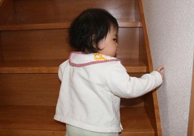 階段の下の七夕ちゃん